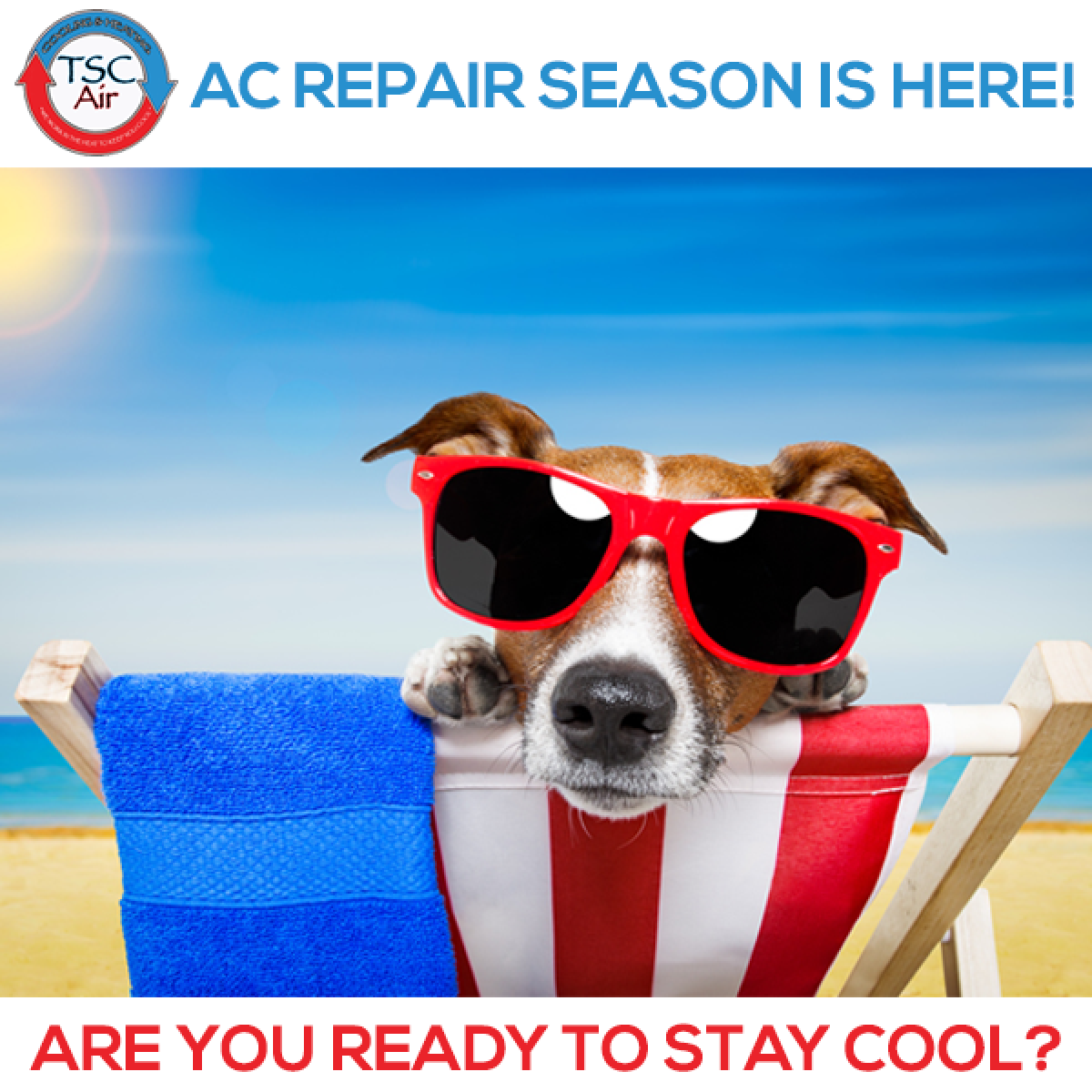 Let us keep you cool all summer long!